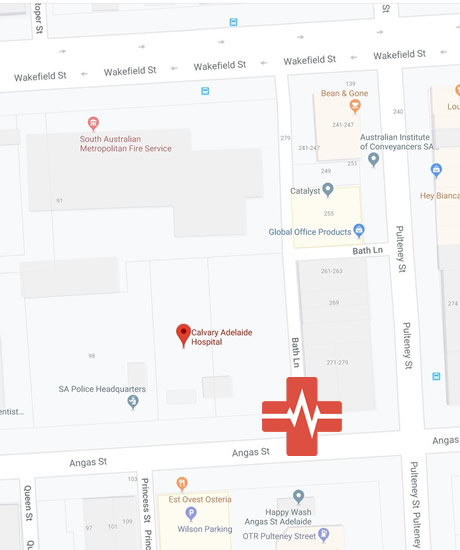 24 Hour Medical Clinic Adelaide Parking